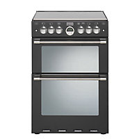 Stoves Sterling 600E Electric Cooker - Black.