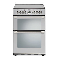 Stoves Sterling 600Ei Electric Cooker - Stainless Steel
