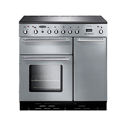 Image for Rangemaster Toledo 8812 90cm Electric Induction Cooker - Silver from StoreName