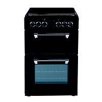 range cookers Stoves Richmond 550E Electric Mini Range Cooker- Black