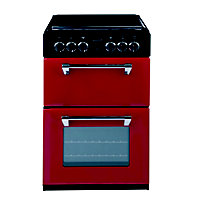 appliances Stoves Richmond 550E Electric Mini Range Cooker- Jalapeno
