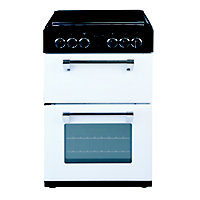 range cookers Stoves Richmond 550E Electric Mini Range Cooker- Coconut