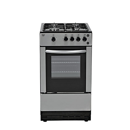 Image for Bush AG56SS Gas Cooker- S/Steel/Exp Del. from StoreName