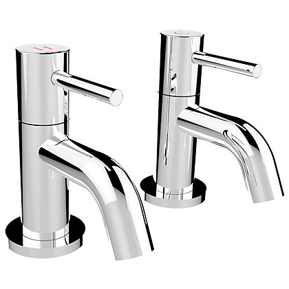 Image for New Swan Neck Bath Taps - Chrome from StoreName