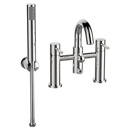 Image for New Swan Neck Bath Shower Mixer from StoreName
