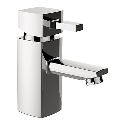 Image for New Cube Mono Basin Mixer Tap from StoreName
