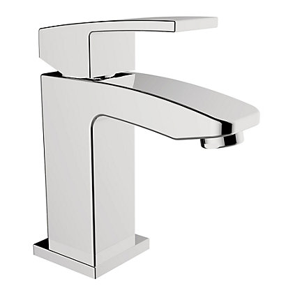 Image for New Square Mono Basin Mixer Tap from StoreName