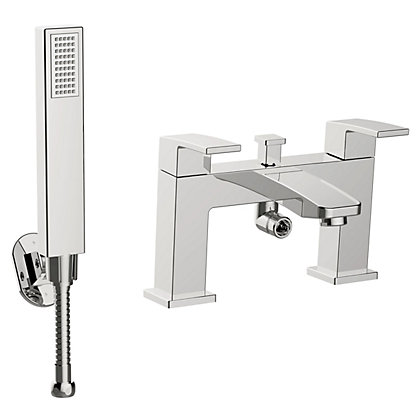 Image for New Square Bath Shower Mixer from StoreName