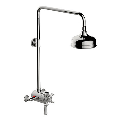 Image for Homebase Westminster Concentric Mixer Shower-Chrome from StoreName
