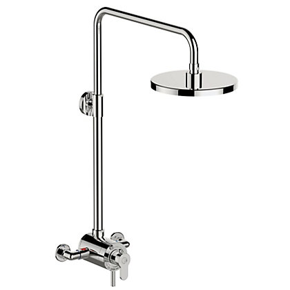 Image for Homebase New Easy Living Concentric Mixer Shower - Chrome from StoreName