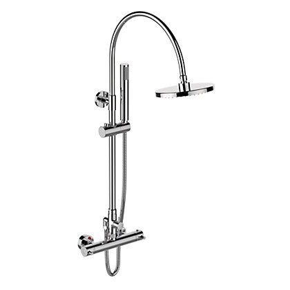 Image for Bouvet Thermostatic Bar Mixer Shower - Chrome from StoreName