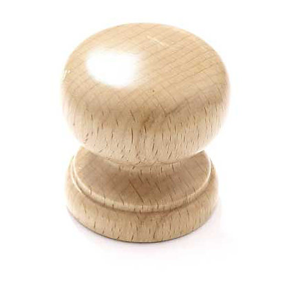 Image for Granny Cabinet Door Knob - Beech - 50mm from StoreName