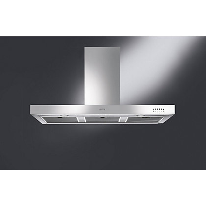 Image for Smeg KSE110XE Chimney Hood - Glossy Black from StoreName