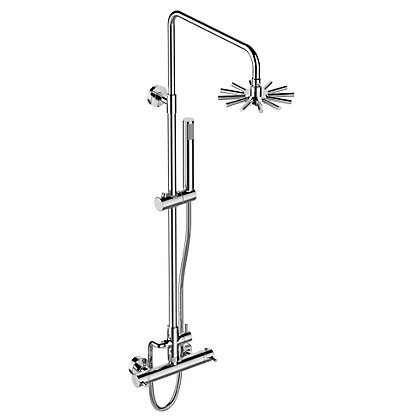 Image for Swan Neck Thermostatic Bar Mixer - Chrome from StoreName