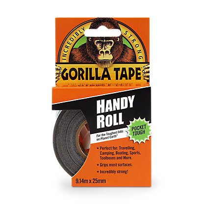 Image for Gorilla tape Handy Roll - 25mm x 9m from StoreName