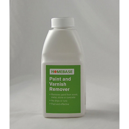 Image for Homebase Paint and Varnish Stripper - 500ml from StoreName