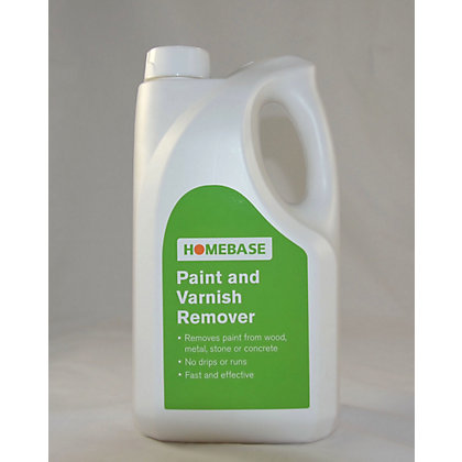 Image for Homebase Paint and Varnish Stripper - 2.5L from StoreName