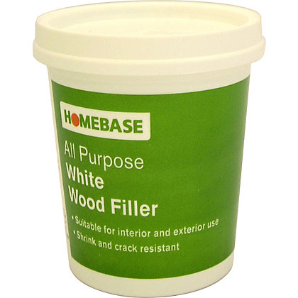 Image for Ready Mix Wood filler - White - 500g from StoreName