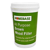 Ready Mix Wood filler - Brown - 1kg