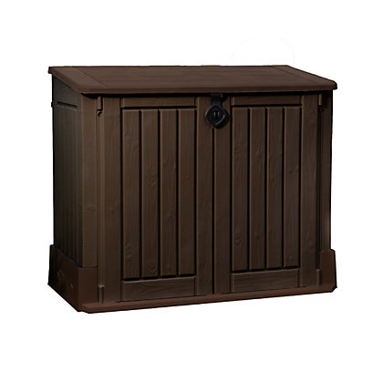 Image for Keter Store it Out Woodland Midi Garden Storage - Brown / 845L from StoreName