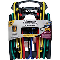 Master Lock Twin Wire 10 Piece Bungee Rack