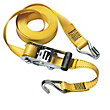 Master Lock Ratchet Tie Down With J-Hooks - 4.5m