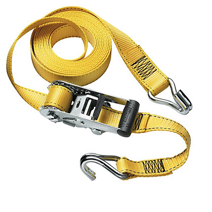 Image for Master Lock Ratchet Tie Down With J-Hooks - 4.5m from StoreName