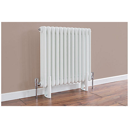 Image for Colonna 3 Column Radiator - 602mm x 609mm - Black from StoreName