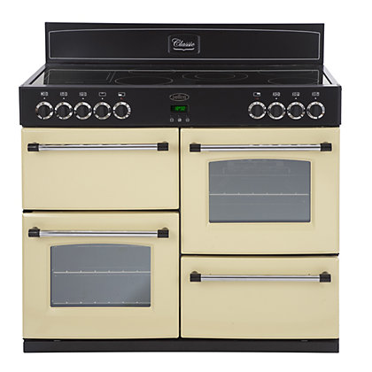 Image for Belling Classic 110E Electric Range Cooker - Cream. from StoreName