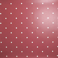 Graham and Brown Contour Wallpaper - Dotty Red