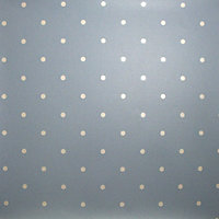 Graham and Brown Contour Wallpaper - Dotty Pastels Blue