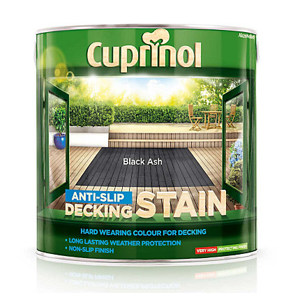 Image for Cuprinol Ultra Tough Decking Stain - Black Ash - 2.5L from StoreName