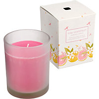 Boxed Candle Jar - Pink Grapefruit