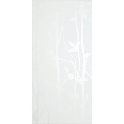 Image for Cottonwood Feature White Ceramic Wall Tile 8 pack from StoreName