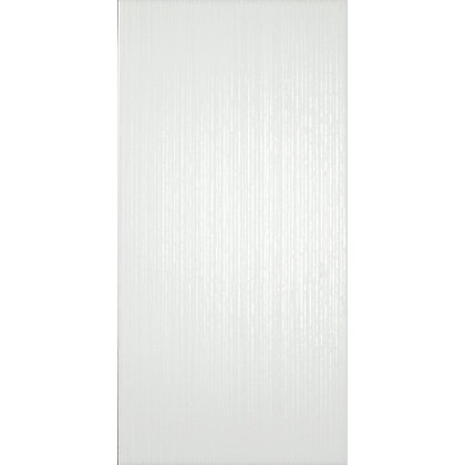 Image for Laura Ashley Cottonwood Linear Wall Tiles - White - 498 x 248mm - 8 pack from StoreName