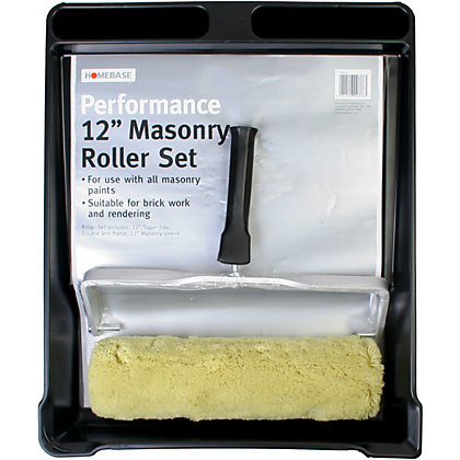 Image for Homebase Performance Masonry Roller Set - 12in from StoreName