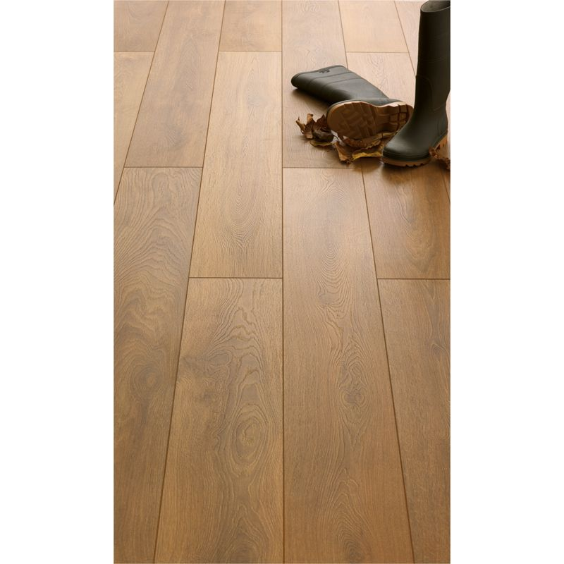 Colours Nobile Caramel Appalachian Hickory Effect Laminate Flooring Home Amp Diy