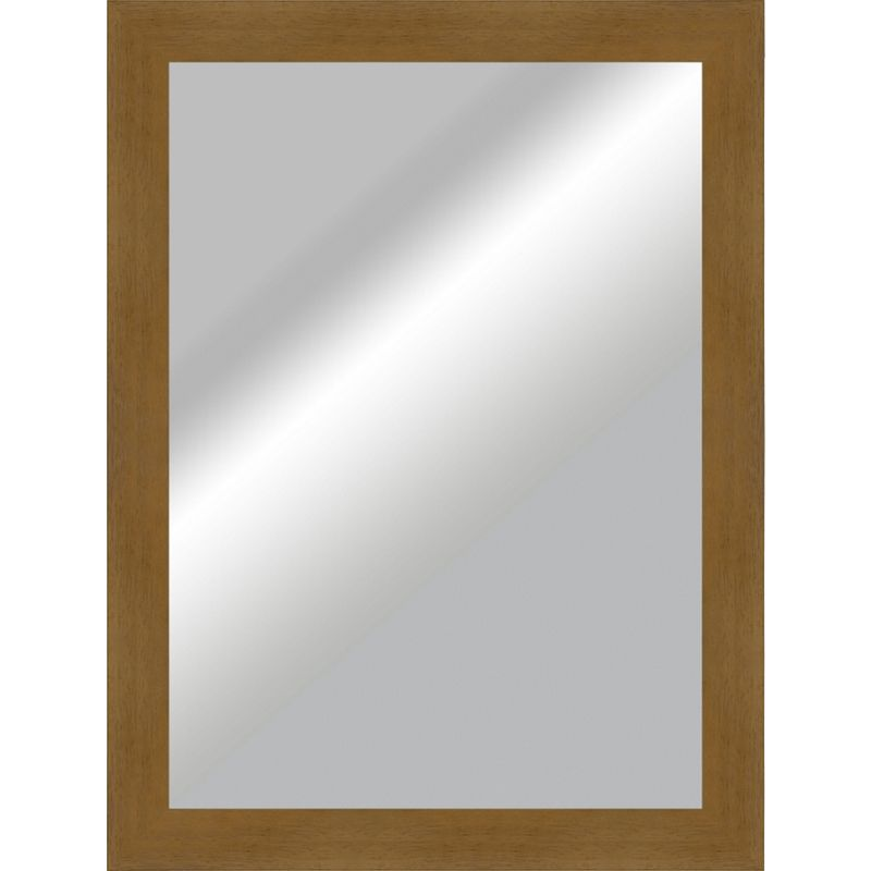 Plain mirror silver effect 50 x 70cm for Mirror 50 x 70