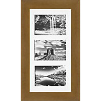 Multimount Light Oak Photo Frame - 8 x 16in