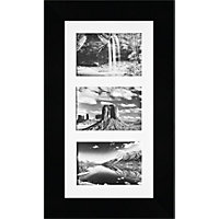Multimount Black Photo Frame - 8 x 16in