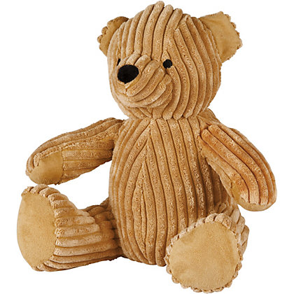 Image for Ribbed Bear Door Stop - Light Brown from StoreName