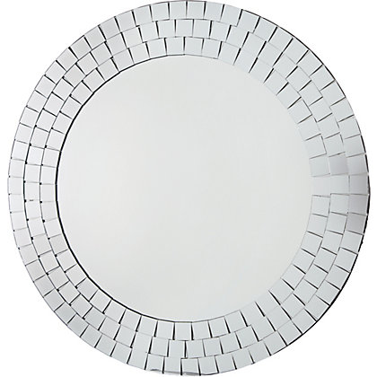 Image for Mosaic Round Wall Mirror from StoreName