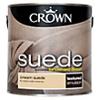 Crown Fashion For Walls Cream - Suede Matt Emulsion Paint - 2.5L