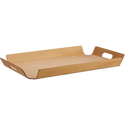 Image for Habitat Hudson Natural Wooden Tray - 32 x 47cm. from StoreName