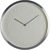 Face Wall Clock - White