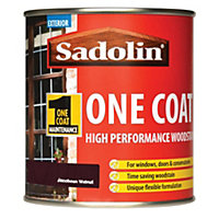 Sadolin Advanced One Coat Woodstain - Jacobean Walnut - 500ml
