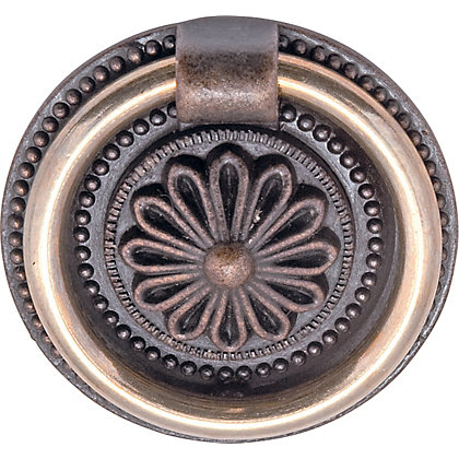 Image for Small Ring Door Pull - Antique Copper - 1 Pair from StoreName