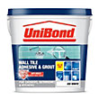 Unibond Wall Tile Adhesive & Grout - Ice White - 1L