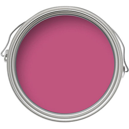 Image for Crown Breatheasy Shocking Pink - Silk Emulsion Paint - 2.5L from StoreName