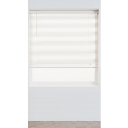 Image for Home of Style Chalk Wood 25mm Venetian Blind - 90cm from StoreName